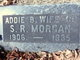 Profile photo:  Addie Bell <I>Whittaker</I> Morgan