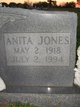 Anita E. <I>Jones</I> Jefcoat
