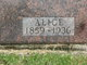 Alice A. <I>Harvey</I> Orttel