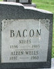 Profile photo:  Aleen <I>Wells</I> Bacon