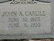 John Andrew Carlile