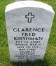 Profile photo:  Clarence F Kirshman
