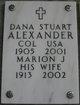 Profile photo:  Dana Stuart Alexander