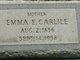 Emma Ernestine <I>Winegord</I> Carlile