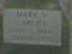 "Mary Vermell ""Mell"" <I>Osban</I> Carlile"
