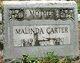 Malinda <I>Carter</I> Carter