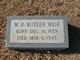 "William Pearson Butler ""Butler"" Weir"