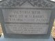 Margaret Victoria <I>Weir</I> Banks