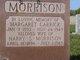 Margaret <I>Carrick</I> Morrison