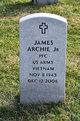 Profile photo:  James Archie, Jr