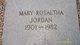 Mary Rosaltha <I>Sailor</I> Jordan