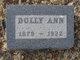 "Dolly Ann ""Dollie"" <I>Day</I> Winters"