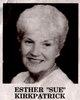 "Profile photo:  Esther C ""Sue"" Kirkpatrick"