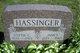 Lottie <I>Moyer</I> Hassinger
