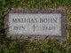 "Mathias ""Poppa"" Bohn"