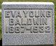 Eva Iona <I>Young</I> Baldwin