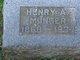 Henry A Munger