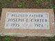 Joseph E. Carter, Sr