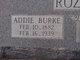Profile photo:  Addie <I>Burke</I> Rozell