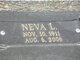Neva L. <I>Geeding</I> Easley