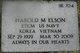 "Harold M. ""Hal"" Elson"