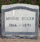 Minnie Ruger