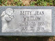 Betty Jean Whitlow