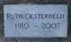 Ruth Oesterheld
