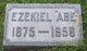 """Ezekiel Abraham """"Abe"""" Bear"""