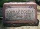 Sopha Eldora <I>Cramer</I> Eckels