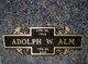 Profile photo:  Adolph W. Alm