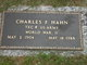Corp Charles F. Hahn