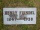 Henry F Feindel