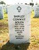 Shirley <I>Conway</I> Bolen