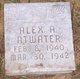 Profile photo:  Alex Arnold Atwater