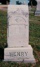 Mary Virginia <I>Martin</I> Henry