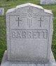Mary Ann <I>Fitzpatrick</I> Barrett