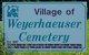 Weyerhaeuser Cemetery