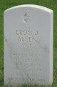 Sgt Leon J. Allen