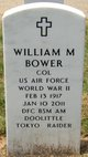 COL William Marsh Bower