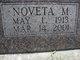 Noveta Mae <I>Stumpff</I> Leonard