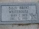 Billy Brent Whitehouse