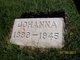 Johanna <I>Boda</I> Van Ark