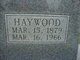 Haywood Burton Howerton