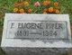 """Francis Eugene """"Gene"""" Piper"""
