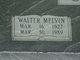 Walter Melvin Cash