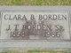 Clara Winifred <I>Brown</I> Borden