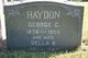 Profile photo: Mrs. Della Mary <I>Beck</I> Haydon
