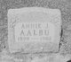 Profile photo:  Annie J Aalbu
