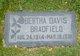 Bertha <I>Davis</I> Bradfield